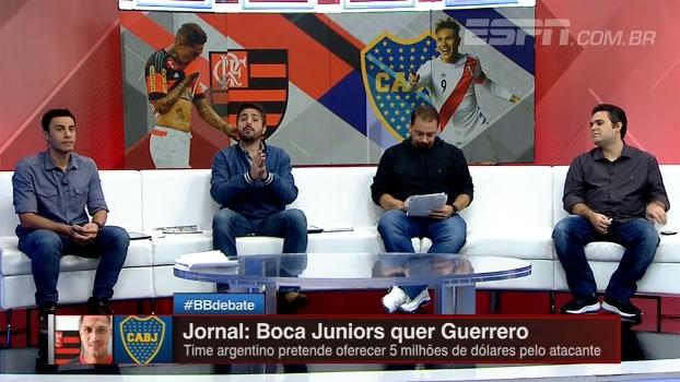 Boca Juniors atrás de Guerrero? BB Debate analisa interesse em atacante do Fla