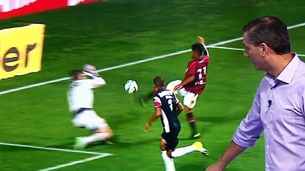 Impedimentos, pênaltis e mais; Salvio analisa lances polêmicos de Atlético-MG x Atlético-PR