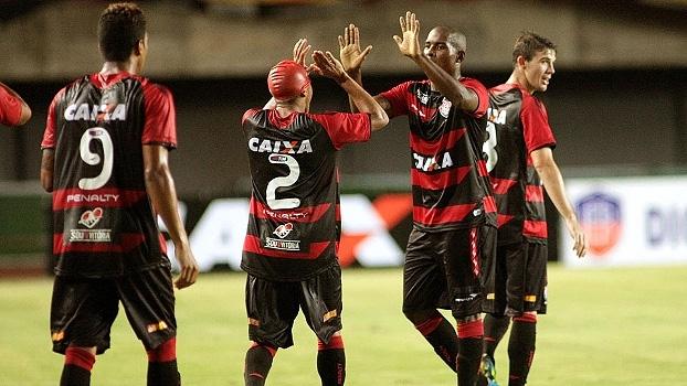 c4f00811069d9 Baiano  Gols de Vitória 2 x 1 Vitória da Conquista - ESPN