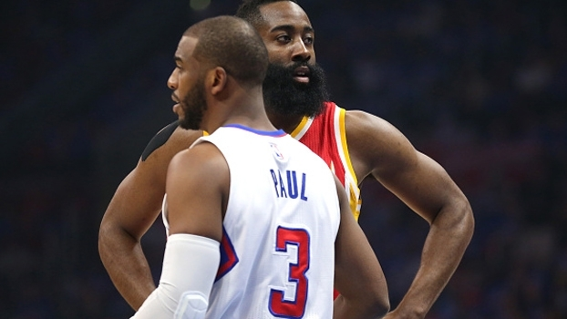 Chris Paul formará uma dupla de astro com James Harden no Houston Rockets