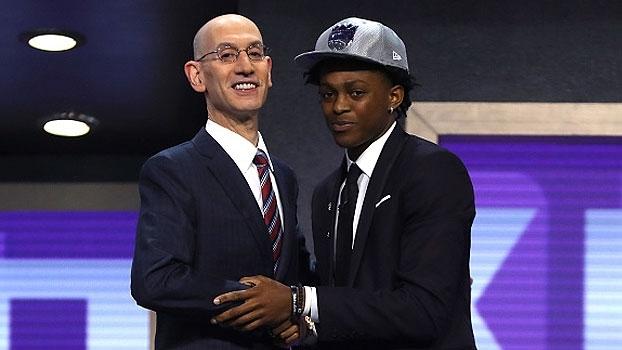 De'Aaron Fox é o 5º escolhido no Draft 2017 da NBA, pelo Sacramento Kings