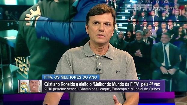 Mauro exalta postura social de CR7 fora de campo e elogia jogador: 'É fenomenal'