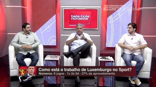 Luxemburgo ainda não encontrou posição de Diego Souza; Bate Bola analisa