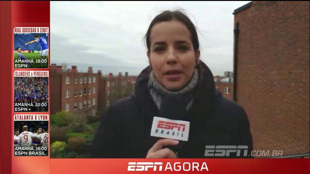 Natalie Gedra traz resultados dos ingleses na Champions League, ouve os personagens do Chelsea e analisa os jogos de hoje