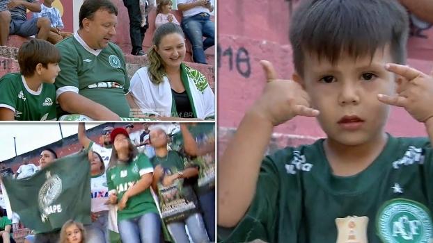 Chapecoense atrai torcedores do interior de São Paulo para ver 'renascimento' na Copinha