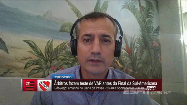 Sálvio revela como foi teste de árbitro de vídeo antes da final da Sul-Americana