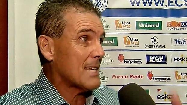 Técnico do São Bento faz desabafo contra a arbitragem após derrota: 'Fomos prejudicados'