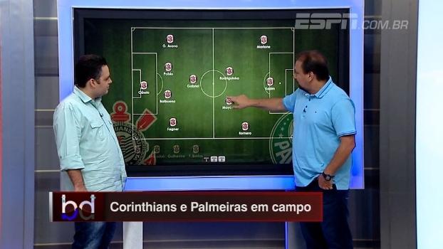 'Dupla BB' escala Corinthians e Palmeiras para o dérbi paulista