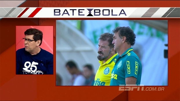 Renova ou não? Cuca quer ficar? Unzelte vê relação peculiar em incerteza entre treinador e o Palmeiras