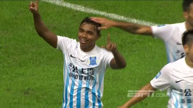 Ex-Coritiba, Renatinho faz dois gols e Guangzhou R&F vence Henan Jianye no Chinês