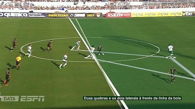 Com o DataESPN, Tironi aponta o que não funcionou no Palmeiras contra a Ponte Preta