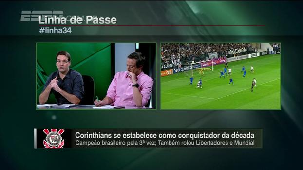 Arnaldo Ribeiro: 'É impossível o Corinthians não ser campeão. Tem a obrigação de vencer quarta'