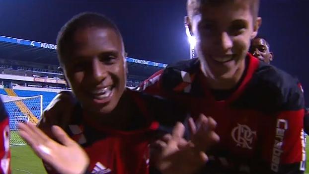 Flamengo empata com o Avaí e vai à final da Copa do Brasil sub-20