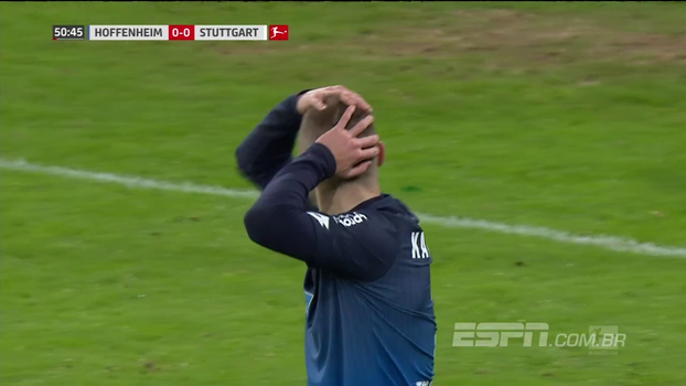 Alemão: Melhores momentos de Hoffenheim 1 x 0 Stuttgart