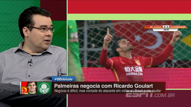 Ricardo Goulart voltando ao Brasil? Veja a opinião de Rômulo Mendonça