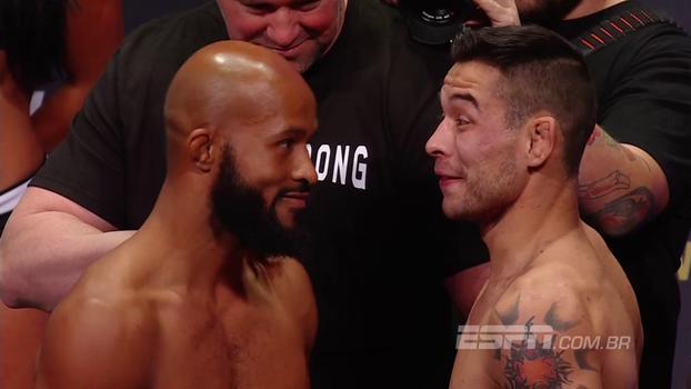 UFC 216: Demetrious Johnson e Ray Borg se provocam durante encarada
