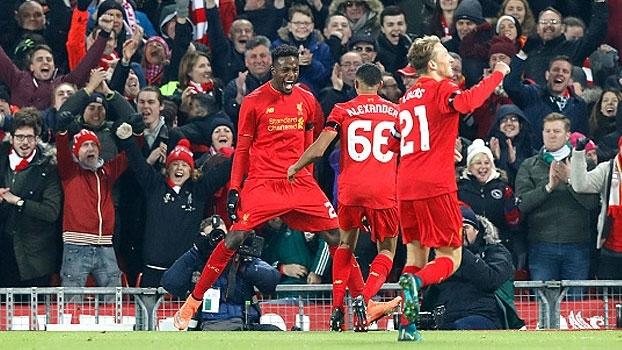 Copa da Liga Inglesa: Gols de Liverpool 2 x 0 Leeds United