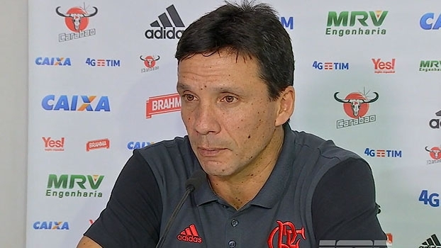Zé Ricardo, sobre pressão do Atlético-GO: 'Nosso gol muito cedo deu uma acomodada'