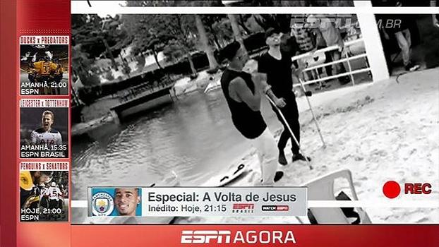Quem canta as muletas espanta! Não perca o especial: A Volta de Jesus; hoje, às 21h15 na ESPN Brasil