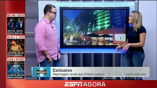 Gabriela Moreira confirma 'acesso a vastos documentos' que comprovam relação de espião com o Grêmio
