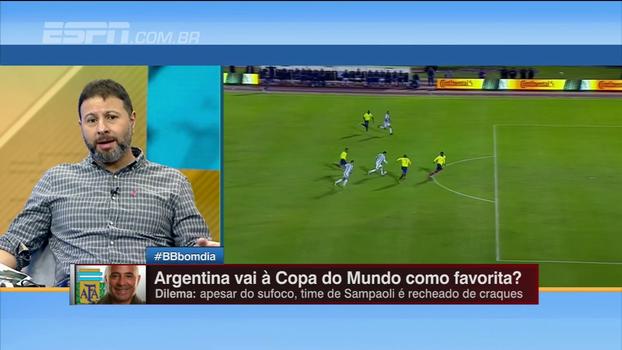 Marra analisa os possíveis candidatos ao título da Copa do Mundo, mas aponta seleção favorita