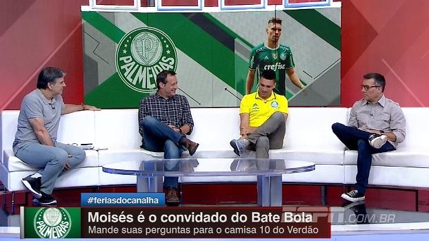 Moisés diz que criou expectativa de ser chamado por Tite para amistoso no Brasil
