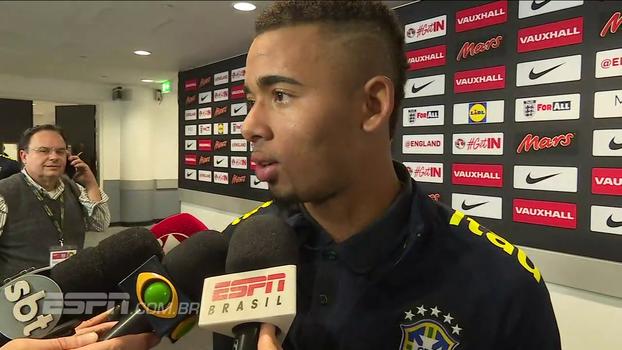 Jesus diz que postura da Inglaterra não o surpreendeu e brinca: 'O brasileiro é muito apaixonante e apaixonado'