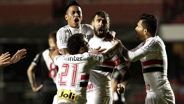 Assista ao gol da vitória por 1 a 0 do São Paulo sobre o Vasco