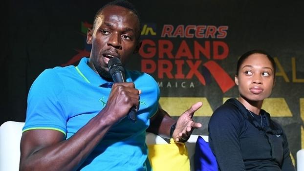 Bolt desafiando... Messi? 'Sempre gostei de tentar coisas novas; seria uma honra', diz atleta