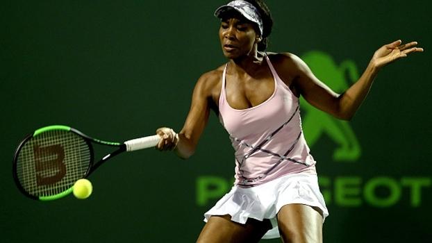 Venus Williams bate Kuznetsova no Premier de Miami; Kerber também avança