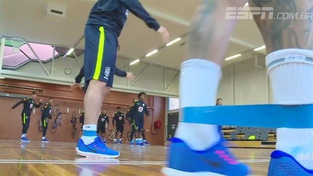 Seleção de Tite inicia treinos para amistosos contra Argentina e Austrália