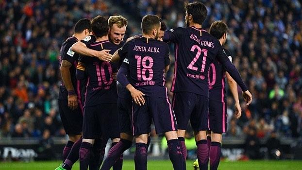 Assista aos melhores momentos da vitória do Barcelona sobre o Espanyol por 3 a 0!