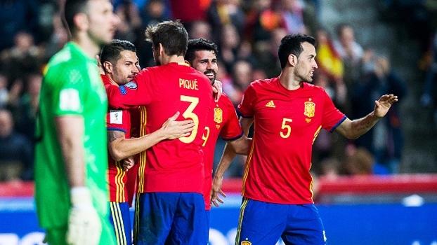 Eliminatórias Europeias  Gols de Espanha 4 x 1 Israel - ESPN c754941178095