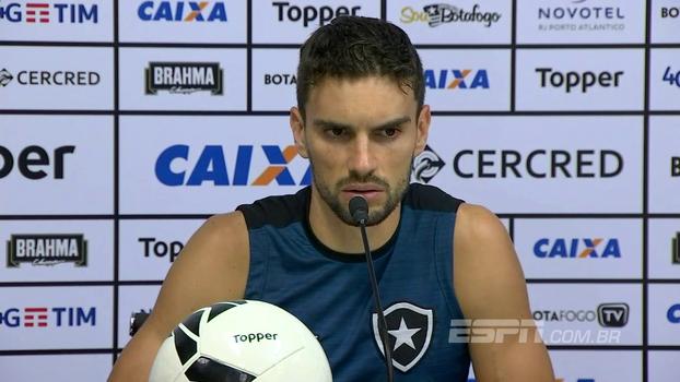 Rodrigo Pimpão: 'O nosso maior objetivo é conseguir a vaga para a Libertadores novamente'