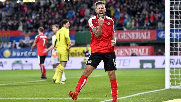 Assista aos melhores momentos da vitória da Áustria sobre a Sérvia por 3 a 2!