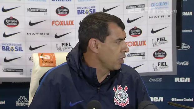 Carille: 'Hoje, o Guilherme Arana é o melhor lateral-esquerdo do futebol brasileiro'