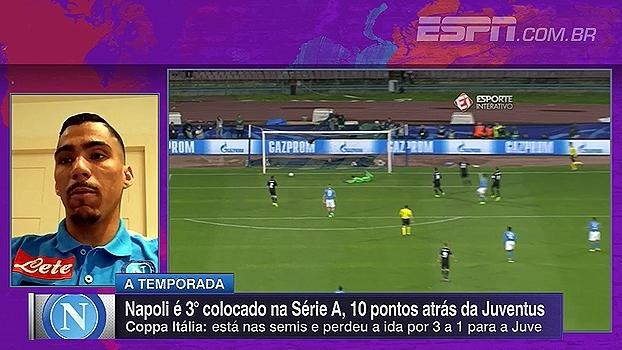 Allan exalta torcedores do Napoli: 'Para eles, o time vem antes até do casamento'