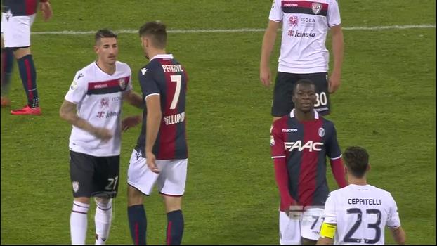 Brasileiro marca, mas Cagliari sofre gol no fim e cede empate ao Bologna