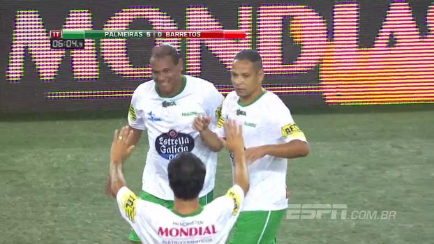 Assista aos gols da vitória do Palmeiras sobre Barretos por 11 a 2!