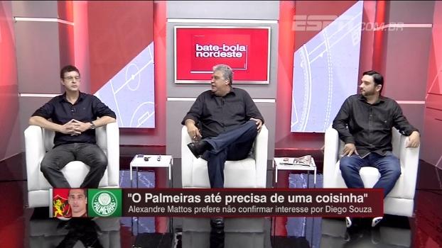 Voz embargada, grito de 'fica Diego Souza'; BB Nordeste acredita que ídolo do Sport vai para o Palmeiras