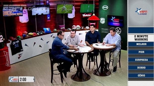 A surpresa, o melhor, o pior e mais: free agency da NFL é tema do '2 minute warning' do ESPN League