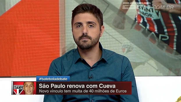 São Paulo oferece aumento e prorroga contrato de Cueva, informa Nicola