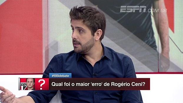 Aproveitamento, multa milionária e mais; Nicola fala dos detalhes da demissão de Rogério Ceni
