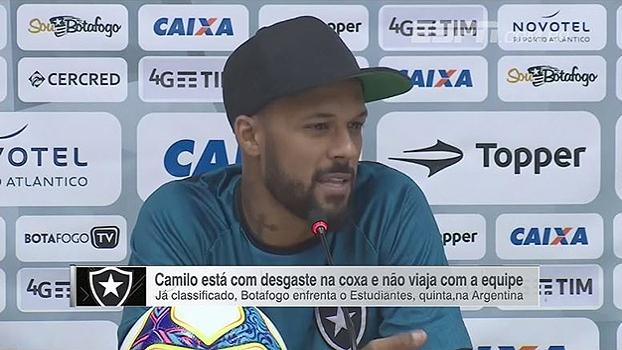 Depois de gols de volantes, Bruno Silva brinca sobre formação do Botafogo: 'Disseram que era defensiva'