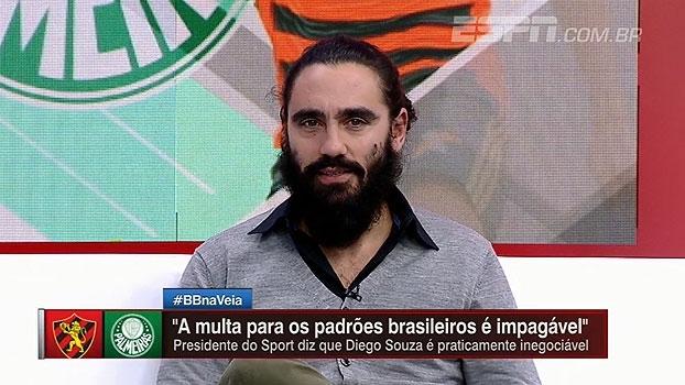Sorin comenta declaração de presidente do Sport sobre multa de Diego Souza: 'Borja também parecia impossível'