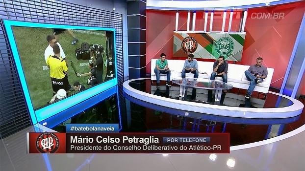 Após cancelamento do Atletiba, Petraglia diz que clubes decidirão juntos quais caminhos seguir