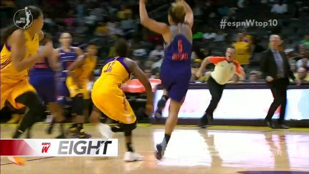Golaços nos EUA e passe de costas na WNBA: veja o Top 10 do espnW