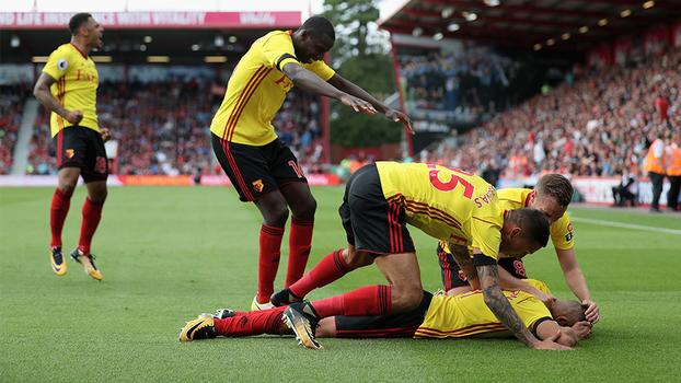 Premier League: Gols de Bournemouth 0 x 2 Watford