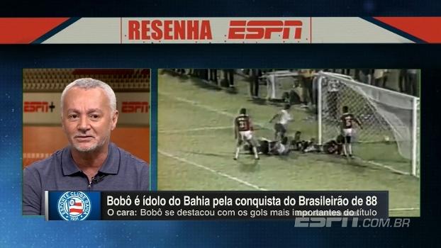 'Eu gostava mais de servir do que fazer gol', diz Bobô