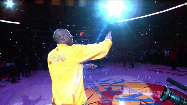 Contra os Warriors em dezembro, Kobe receberá honraria que nenhum outro jogador teve na NBA
